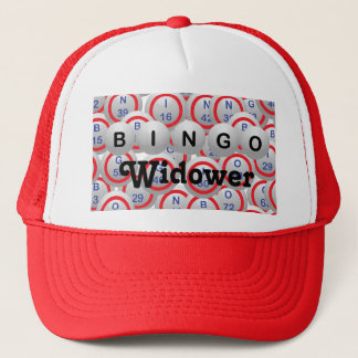 Bingo Widower Trucker Hat