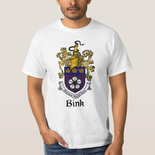 Bink Family Crest/Coat of Arms T-Shirt