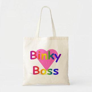 Binky Boss Baby Tote Budget Tote Bag