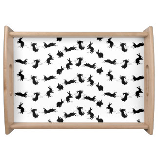 Binky Bunnies Serving Tray (Choose Colour)