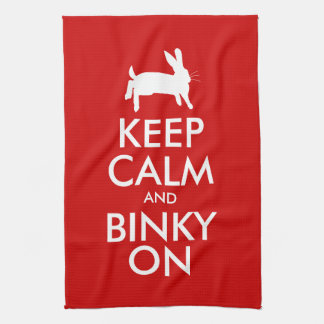 BINKY ON! TEA TOWEL