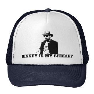 Binney is my Sheriff Cap