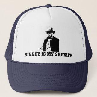 Binney is my Sheriff Trucker Hat