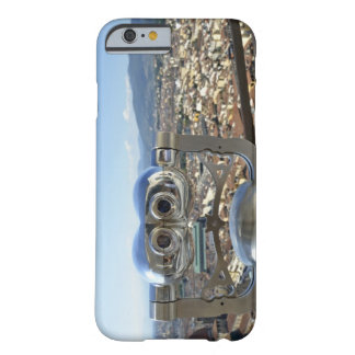 Binoculars overlooking Florence cityscape, top Barely There iPhone 6 Case