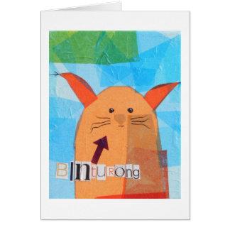 Binturong! Greeting Card