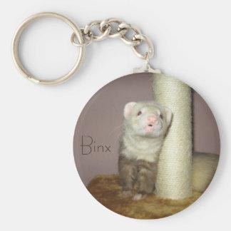 Binx the Ferret Key Ring
