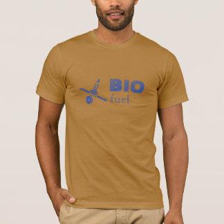 Bio Fuel Text Cotton T-Shirt