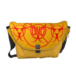 Bio-Hazard Bags Biohazard NO GMO Messenger Bags