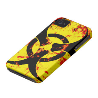 Bio Hazard BlackBerry Bold Case-Mate Barely There iPhone 4 Cover