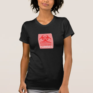 Bio Hazard Furries Womens Tshirts