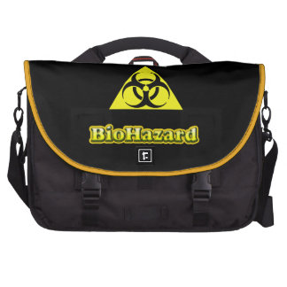 Bio-Hazard Laptop Messenger Bag