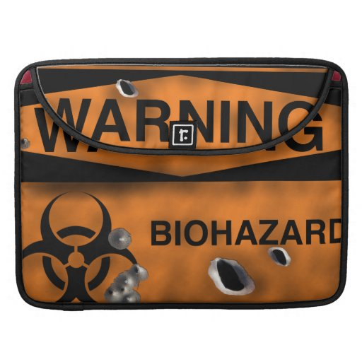 Bio Hazard Rickshaw Macbook Pro Flap Sleeve Sleeves For MacBook Pro