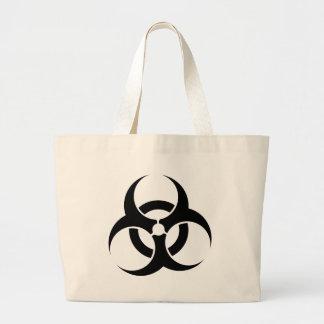 Bio-Hazard Symbol Canvas Bags
