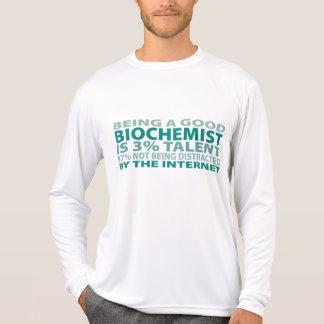 Biochemist 3% Talent T Shirts