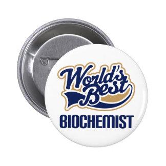 Biochemist Gift Buttons