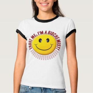 Biochemist Trust Smiley Tees