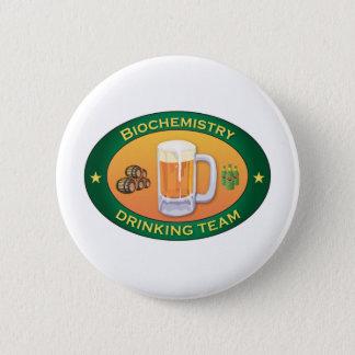 Biochemistry Drinking Team 6 Cm Round Badge