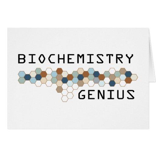 Biochemistry Genius Card