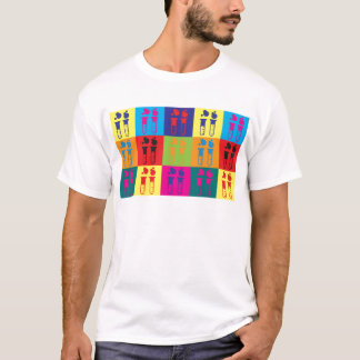 Biochemistry Pop Art T-Shirt
