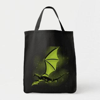 Biocras Dragon Grocery Tote Bag