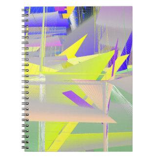 BioDesign #1 TRANSSPECIES ART Spiral Notebook