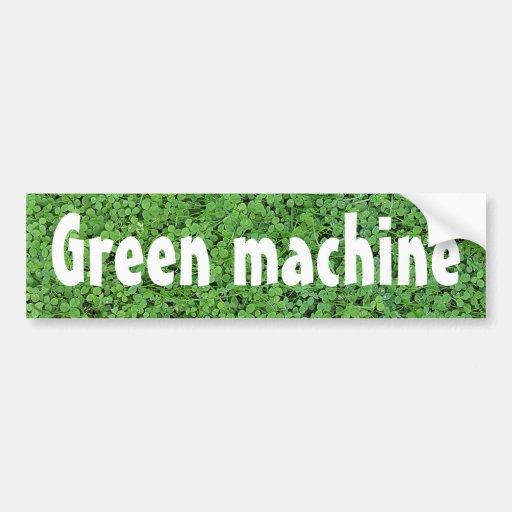 Biodiesel powered bumper sticker
