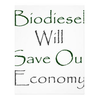Biodiesel Will Save Our Economy Full Color Flyer