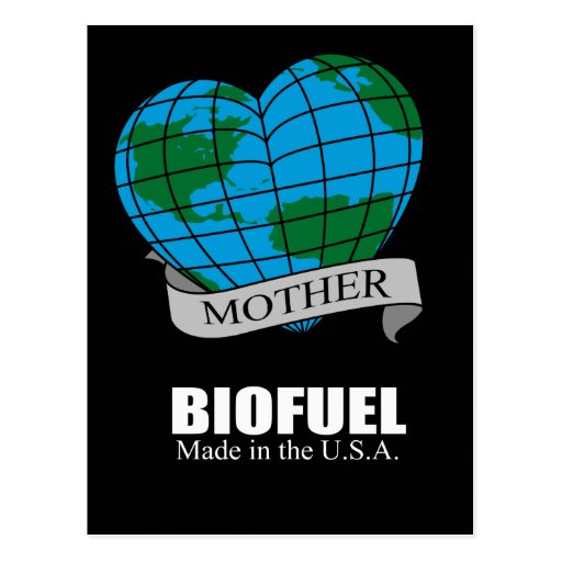 Biofuel - Made in the USA Postcard
