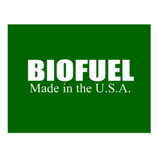 Biofuel - Made in the USA Post Cards