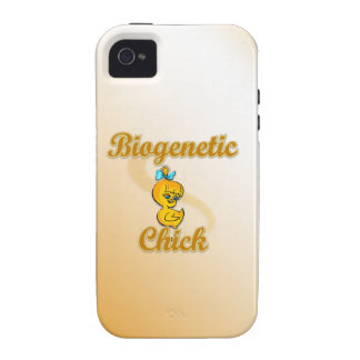 Biogenetic Chick Vibe iPhone 4 Covers