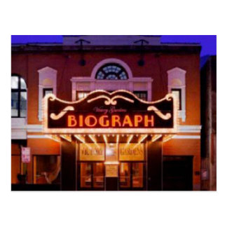 Biograph Theatre Postcard