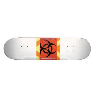 BioHaz Mat Boss Deck Custom Skateboard