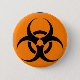 Biohazard 05 6 cm round badge