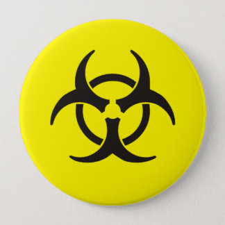 Biohazard 10 Cm Round Badge