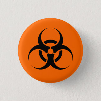 Biohazard 3 Cm Round Badge
