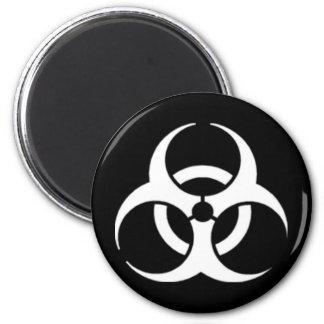 Biohazard 6 Cm Round Magnet