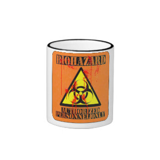 Biohazard authorized personnel only mug
