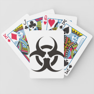 Biohazard Bicycle Playing Cards