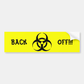 Biohazard! Bumper Sticker