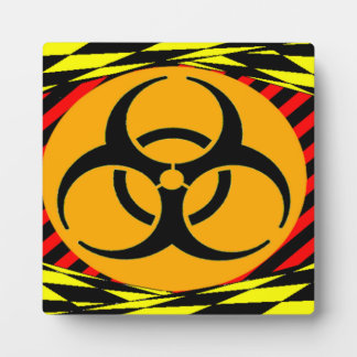 Biohazard by Kenneth Yoncich Plaques