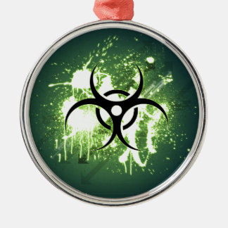 Biohazard Christmas Ornament