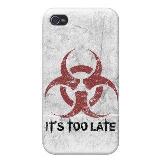 Biohazard Customizable Case For iPhone 4
