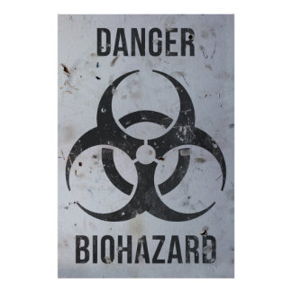 Biohazard Danger Sign