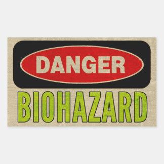 Biohazard Danger Stickers