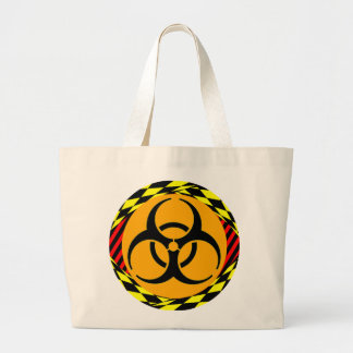 Biohazard Design by Kenneth Yoncich Jumbo Tote Bag