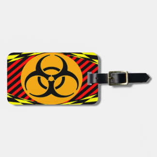 Biohazard Design Tags For Bags