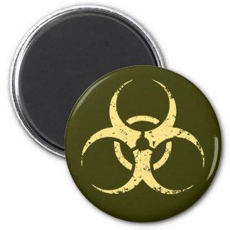 Biohazard -dist -yellow magnet
