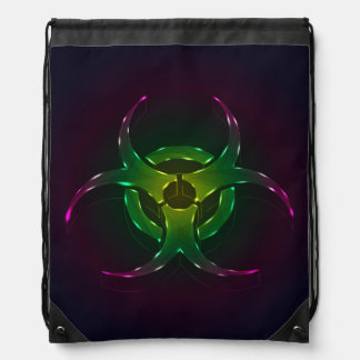 Biohazard Drawstring Bag