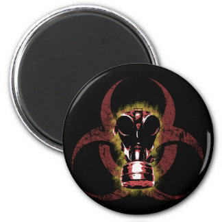 Biohazard Gas Mask Customizable Magnet