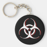 Biohazard Key Chain - Bone Blood Ash